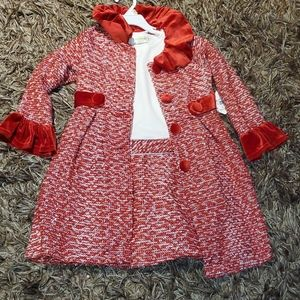 2 pieces dress